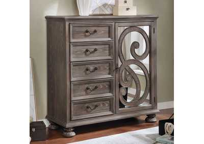 Image for Lysandra White Armoire