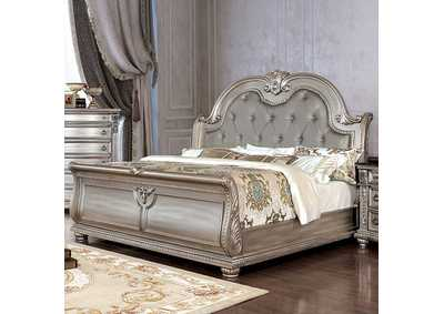 Image for Fromberg Champagne California King Sleigh Bed