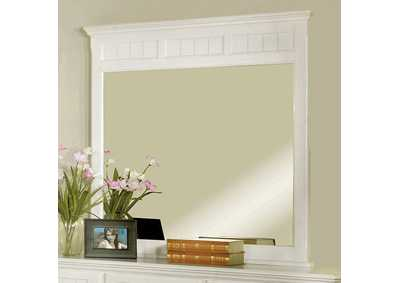Willow Creek White Mirror