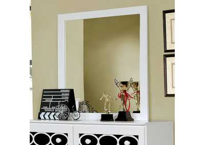 Cammi White Mirror
