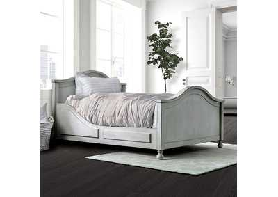 Lovis Gray Twin Bed
