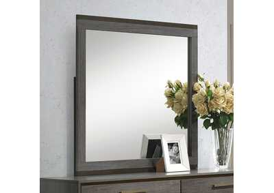 Image for Manvel Antique Gray Mirror