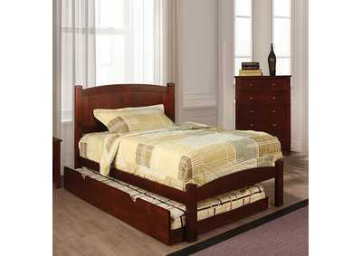 Image for Cara Cherry Full Platform Bed
