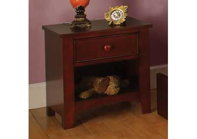 Omnus Cherry Nightstand