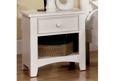 Image for Omnus White Nightstand