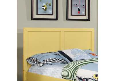 Prismo Yellow Queen Headboard