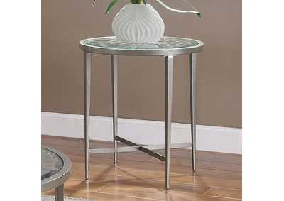 Freja Grey End Table