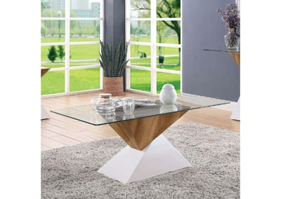 Bima Ii White Coffee Table