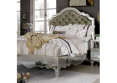 Eliora Silver Queen Bed