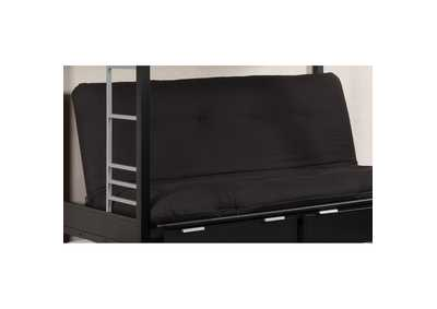 "Image for Plosh 6"" Black Futon Mattress"