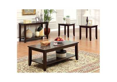 Image for Townsend lll Dark Cherry 3 Piece Occasional Table Set