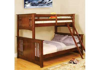 Image for Spring Creek Oak Full Bunk Bed
