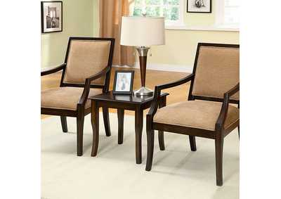 Image for Boundry 3 Piece Accent Table & Chair Set