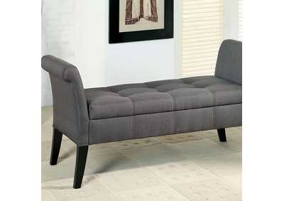 Image for Doheny Gray Storage Bench