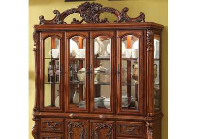 Image for Medieve Antique Oak Hutch Buffet
