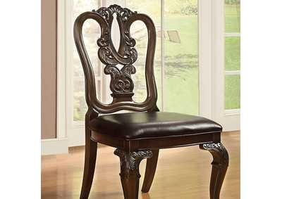 Image for Bellagio Wooden Side Chair (Set of 2)