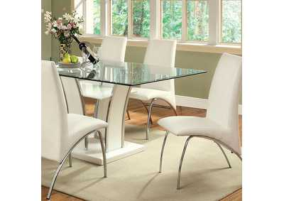 Image for Glenview White Dining Table