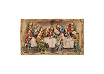 "Image for Homili 8"" Last Supper Plaque"