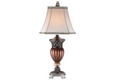 Luna Brown Table Lamp (Set of 2)