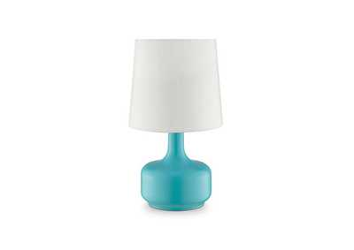 Image for Farah Blue Table Lamp