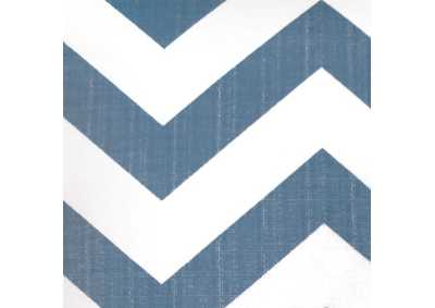 Image for Zoe Blue Chevron Pattern Pillow, 18 x 18' (Set of 2)