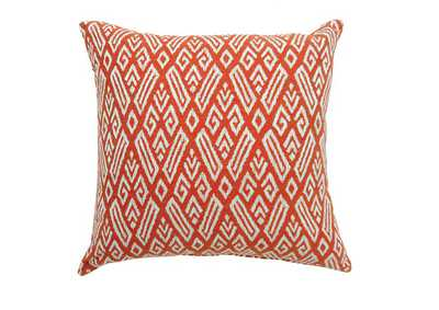 "Image for Cici 18"" X 18"" Pillow, Red (Set of 2)"