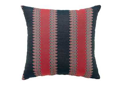 "Image for Lara 18"" X 18"" Pillow, Red/Blue (Set of 2)"