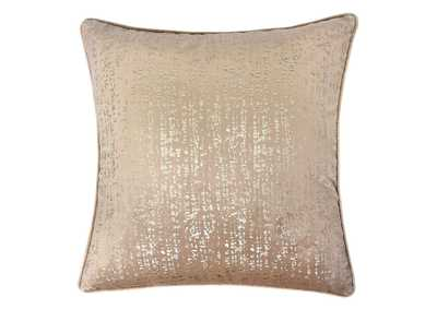 Belle Beige Accent Pillow (Set of 2)