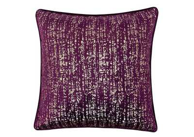 Image for Belle Purple Accent Pillow (Set of 2)