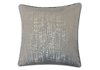 Belle Gray Accent Pillow (Set of 2)