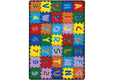 Image for Abbey Alphabet Area Rug