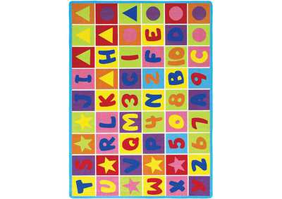 Abbey Alphabet Area Rug