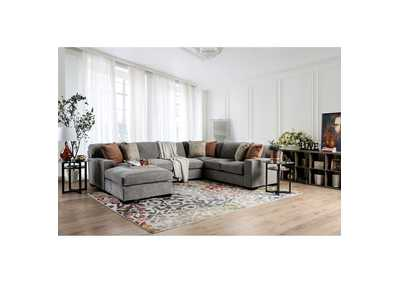 Ferndale Gray Sectional