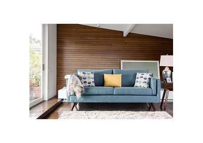 Genna Sky Blue Sofa