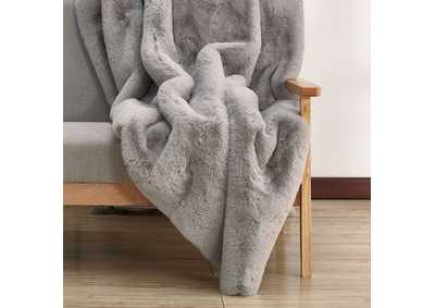 Image for Caparica Gray Throw Blanket