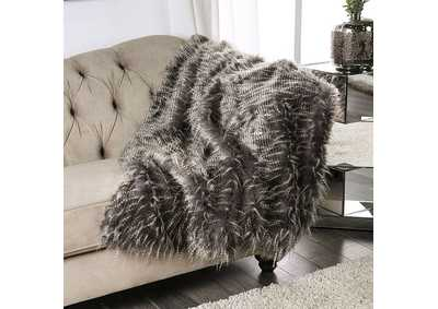 Image for Caparica Brown Throw Blanket