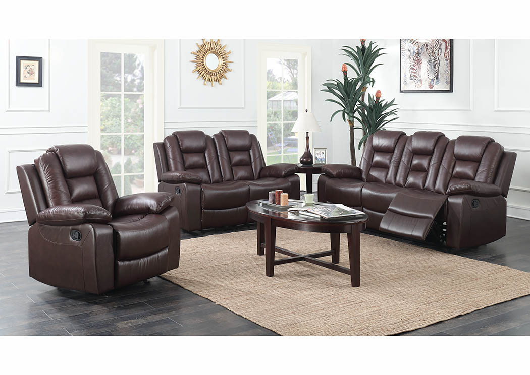 Surprising Just Furniture Brown Leather Double Reclining Sofa Loveseat Bralicious Painted Fabric Chair Ideas Braliciousco