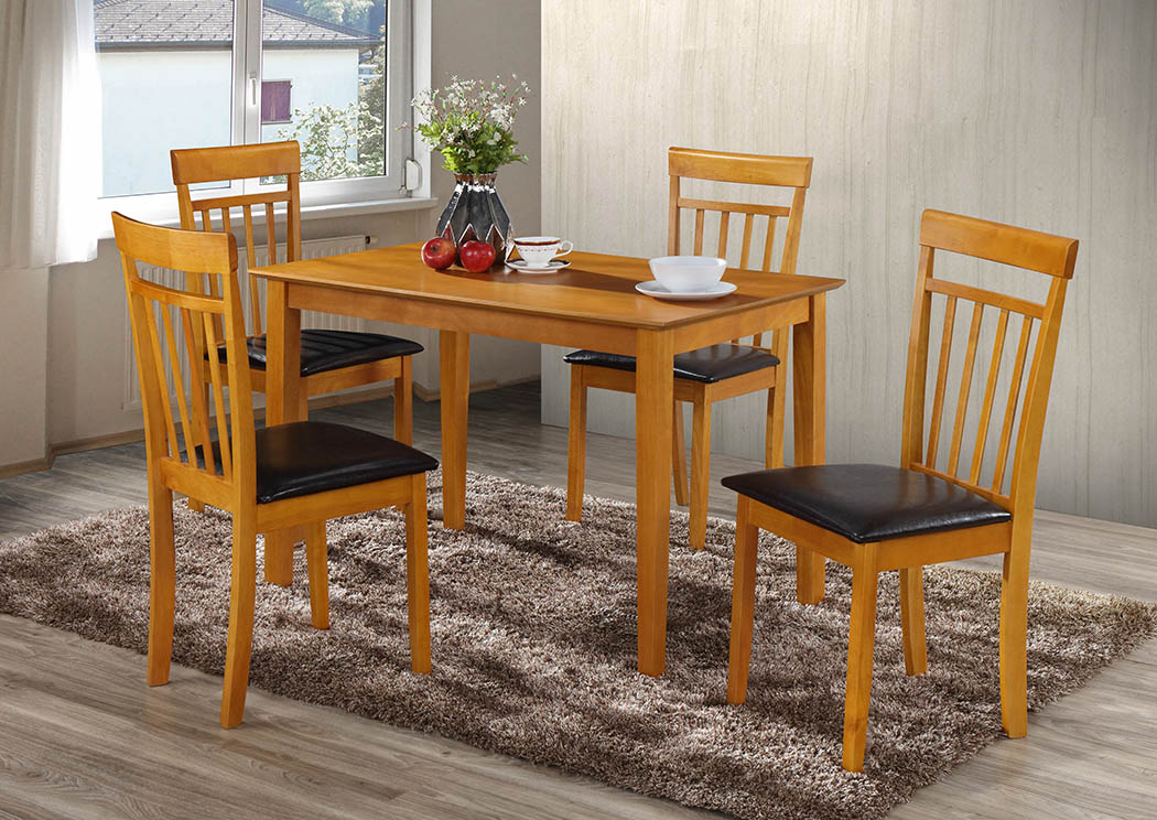 Just Furniture Antique Maple Dining Table
