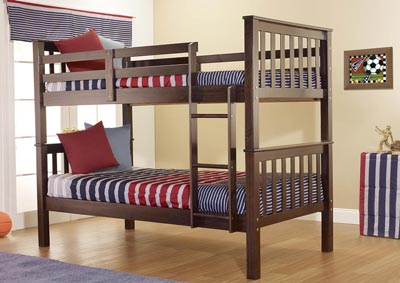 Java Twin/Twin Bunk Bed
