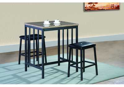 Image for White Counter Height Table w/2 Stools