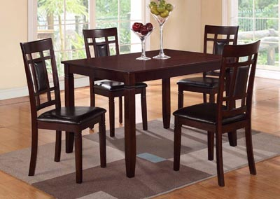 Image for Cherry Greece Table + 4 Chairs