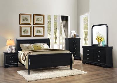 Image for LPBlack Queen bed
