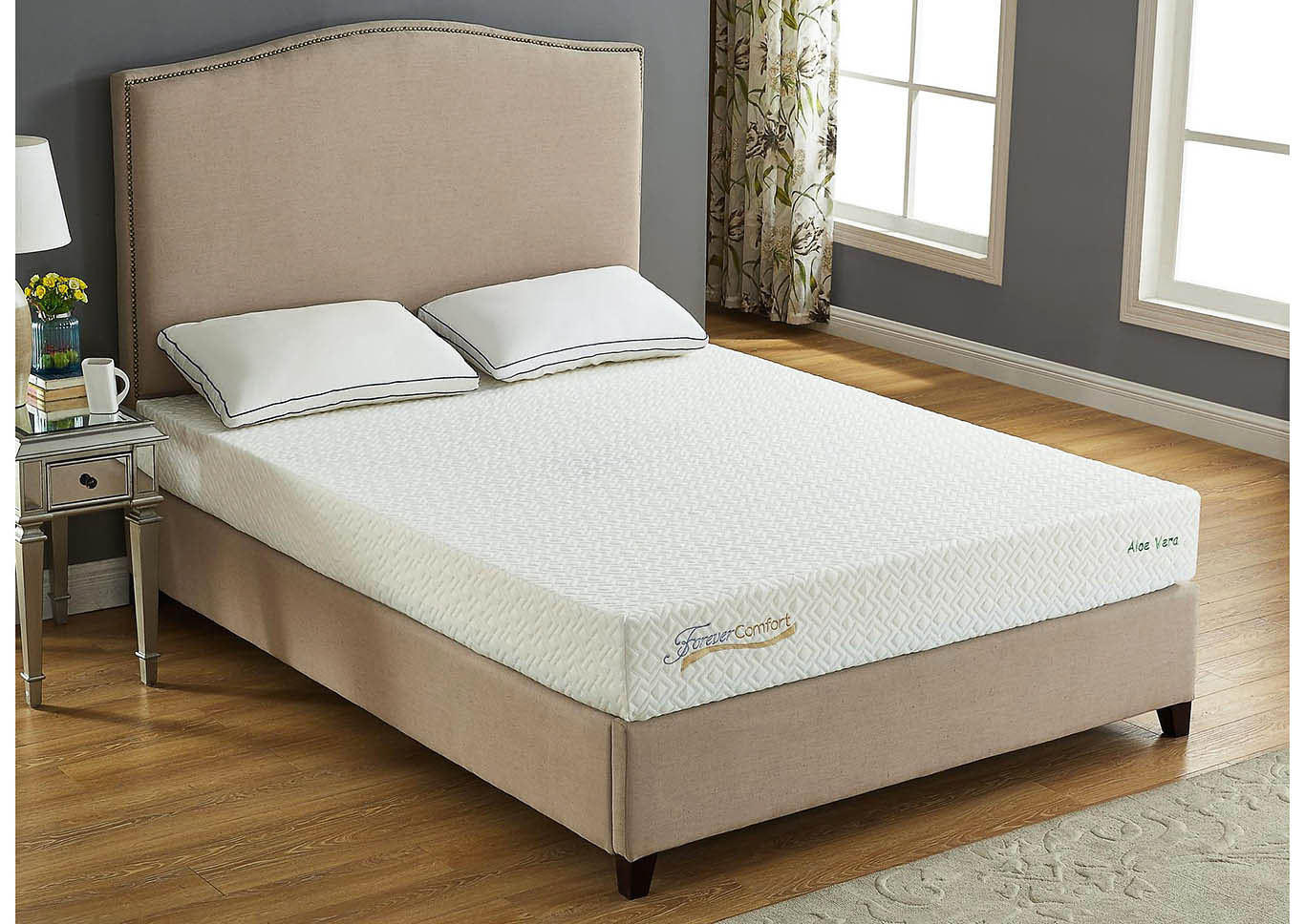 Roses Flooring And Furniture 8 Gel Memory Foam King Size Mattress