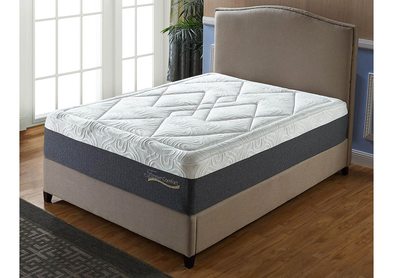 14 Gel Memory Foam Mattress Queen Size,Global Trading