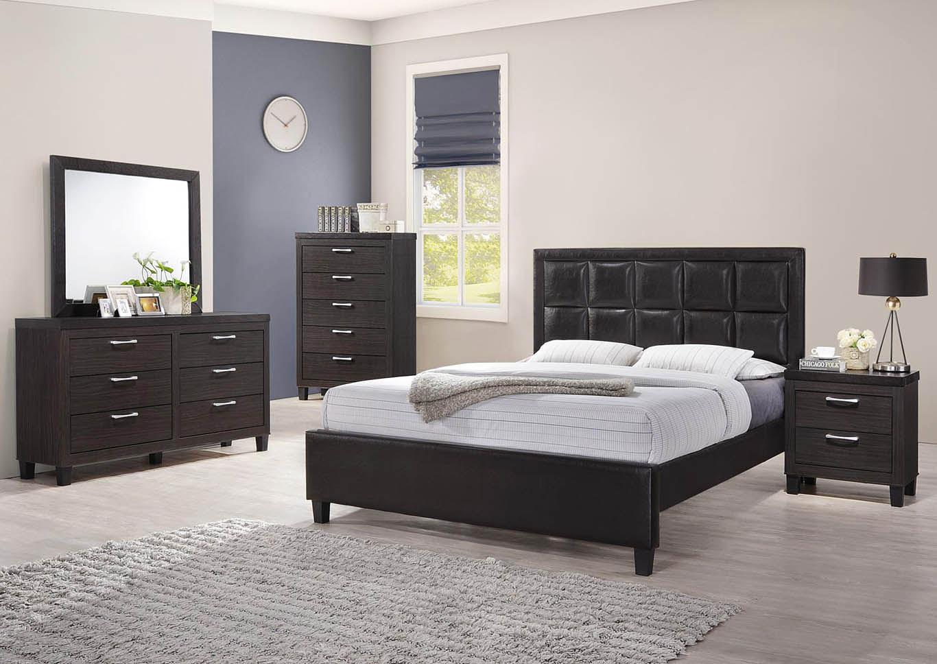 Superieur 3 Piece Queen Bedroom Set,Global Trading