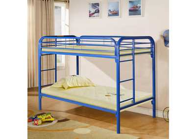Blue Twin/Twin Bunk Bed