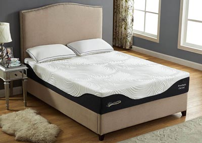 12 Gel Memory Foam King Size Mattress