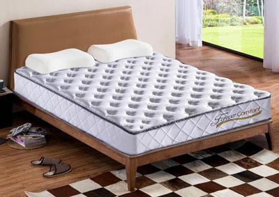 9 Pocket Coil Roll Up Queen Mattress