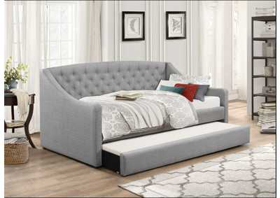Grey Daybed W/ Trundle