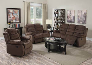 Cocoa Short Plush Recliner